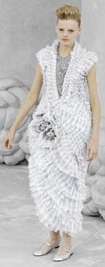 Vestido de Alta Costura de Chanel